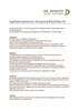 Applikationshinweise Derogrund Ethylsilikat